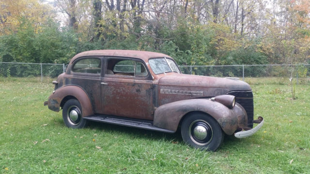 Original 1939 chevrolet 2 door master deluxe good driver for 1939 chevy 2 door