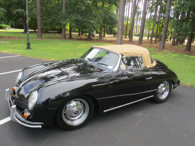 porsche 356 roadster d replica with rollup windows. Black Bedroom Furniture Sets. Home Design Ideas