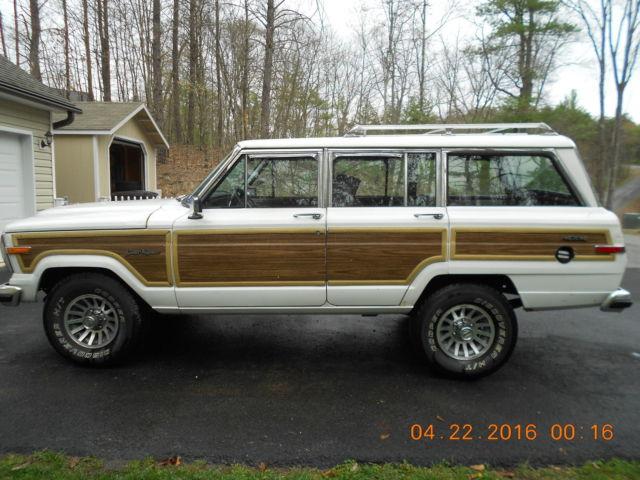 price firm 1989 jeep g wagoneer restored rebuilt engine. Black Bedroom Furniture Sets. Home Design Ideas