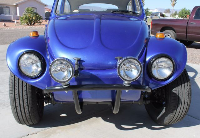 Priced to Sell! 68 Volkswagen Beetle Classic w Baja Kit Car