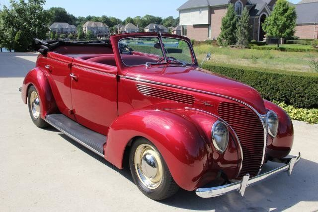What red v w vintage convertible intolerable