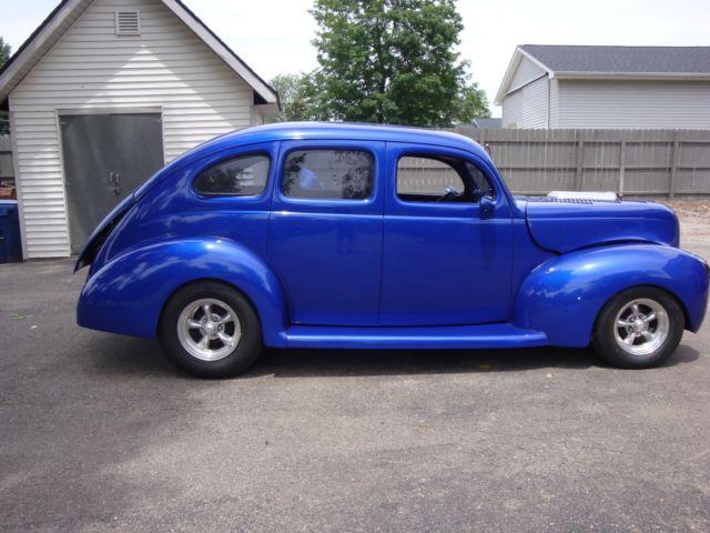 Rare 1939 ford 4 door deluxe slant back sedan hot rod for 1939 ford deluxe 4 door sedan