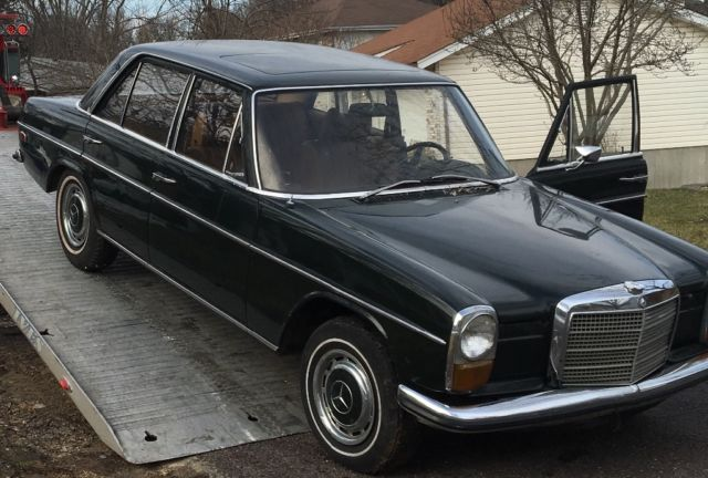 rare 1968 mercedes benz 230 sedan made in germany