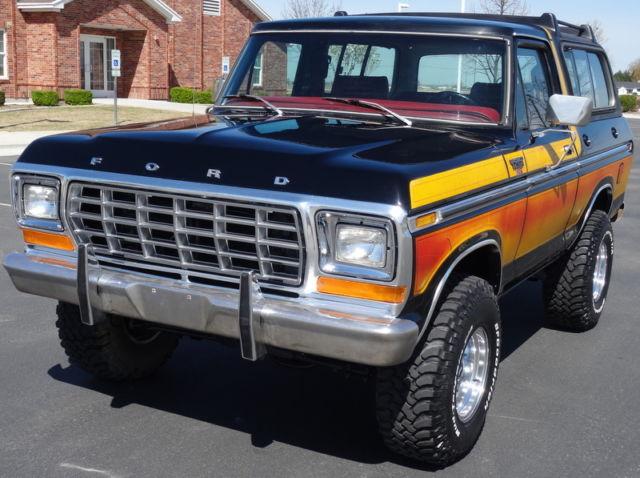 Ford Bronco Freewheeling >> RARE 1979 Ford Bronco Ranger XLT, 4x4, Free Wheelin Package