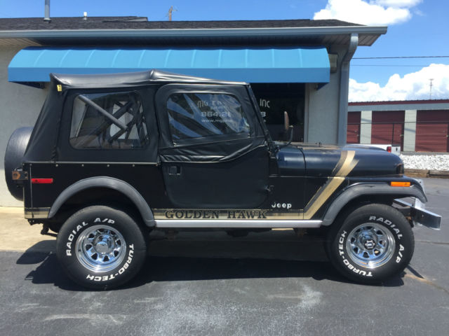 Rare 1980 Golden Hawk Cj7 Original