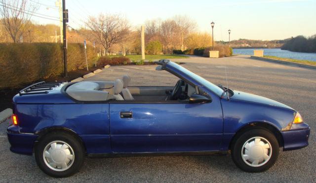 Rare 1993 Chevrolet Geo Metro LSI Convertible - Automatic ...