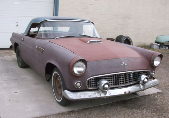 RARE EARLY 1955 T BIRD FOR RESTORATION