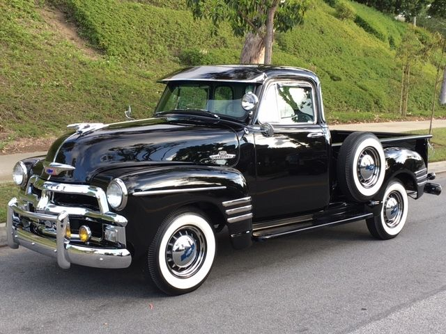 Rare restored 1954 1955 chevrolet early series 3100 for 1954 chevy truck 5 window