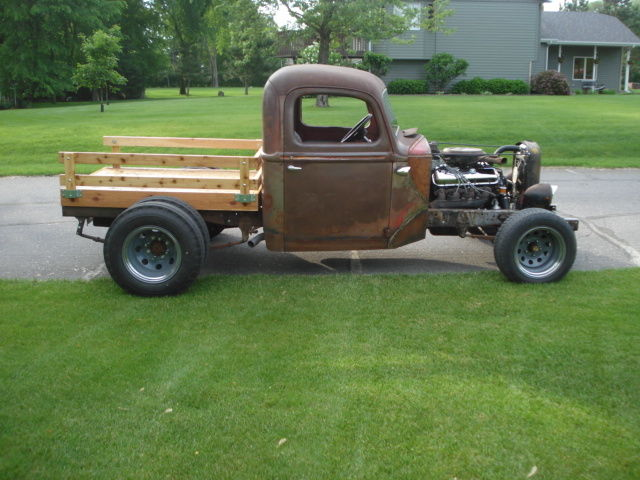rat rod truck 1938 ford dually