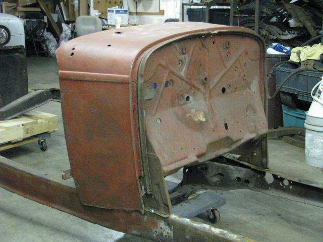 Real 1932 ford roadster body frame w title for 1932 ford door hinges