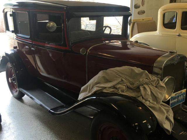 Restored 1930 chevrolet universal 4 door sedan beautiful for 1930 chevrolet 4 door sedan