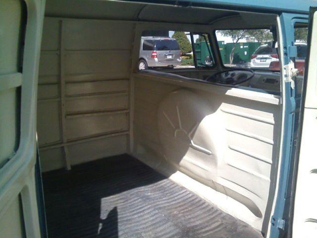 Restored German Made 1958 Vw Barn Door Split Panel Bus