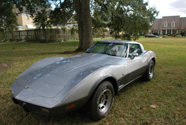 Corvette Silver Anniversary Paint Code