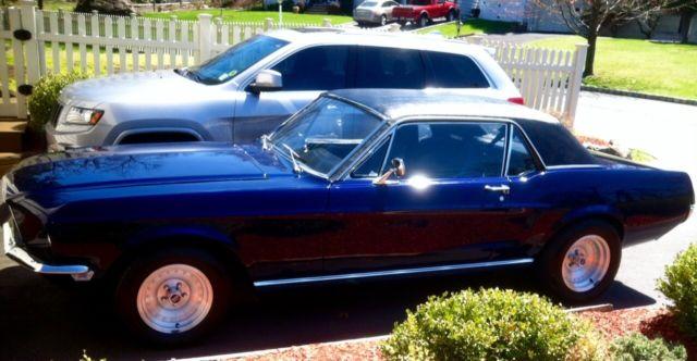 Restored Restomod 1968 Mustang 390 Fe Original Gt Coupe