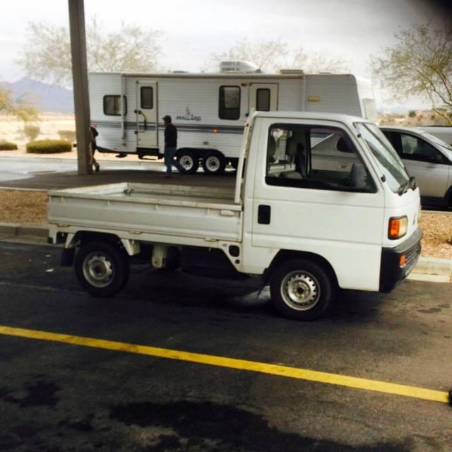 rhd honda acty jdm japanese mini truck right hand drive legal micro truck 660cc. Black Bedroom Furniture Sets. Home Design Ideas