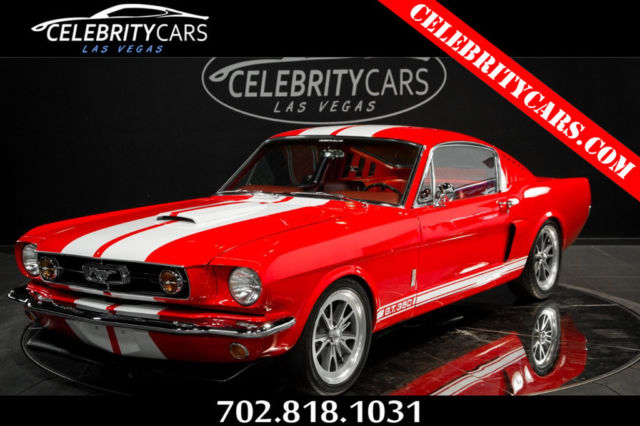 Mustang Gt Fastback >> Shelby GT350 Tribute 1965 Ford Mustang Shelby Fastback GT350 Tribute 302 V8 Cus