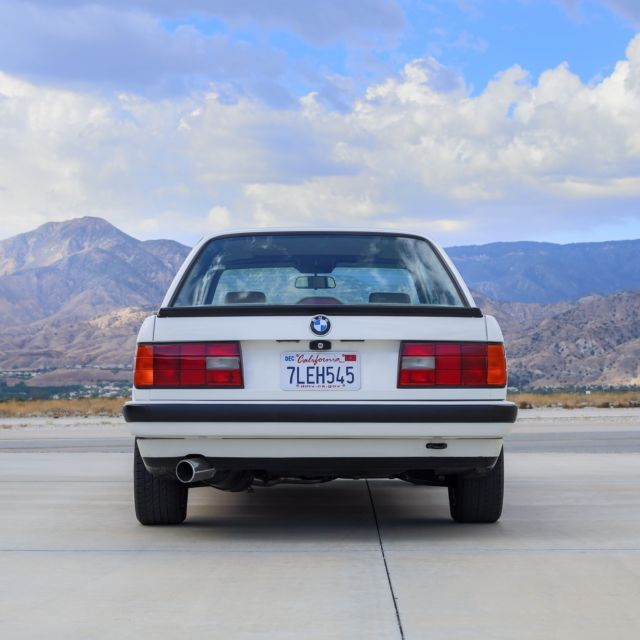 1991 BMW 318is Coupe E30, Manual, Sunroof