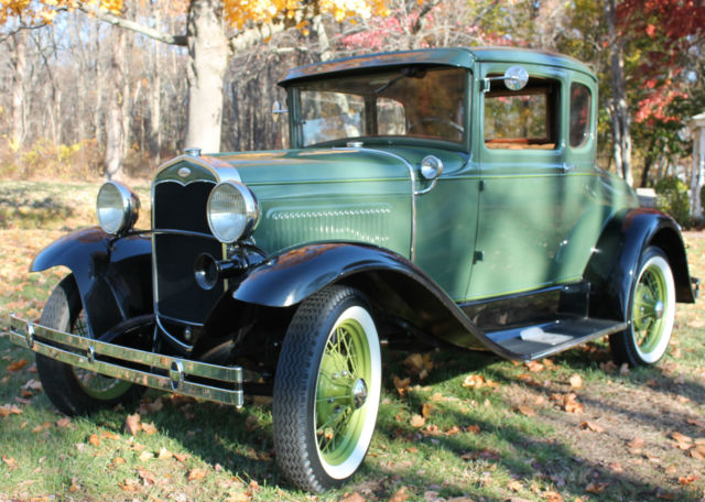 Simply gorgeous green two tone 1931 ford model a 5 window for 1931 ford model a 5 window coupe