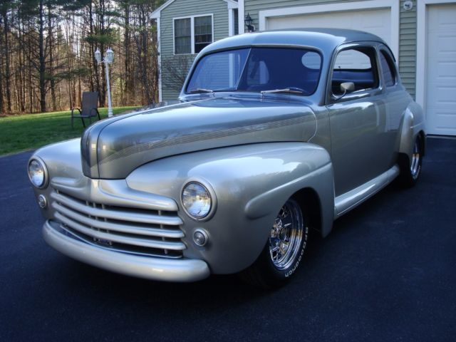 Steel Ford Coupe Street Rod High End Build 1932 1933