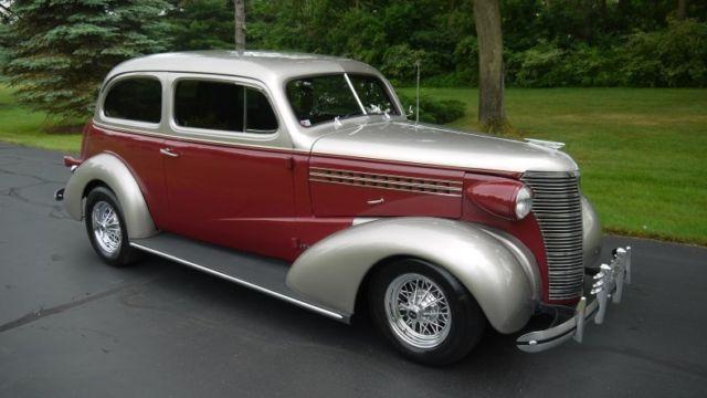 Stunning 1938 chevrolet two door sedan street rod for 1938 chevrolet 2 door sedan