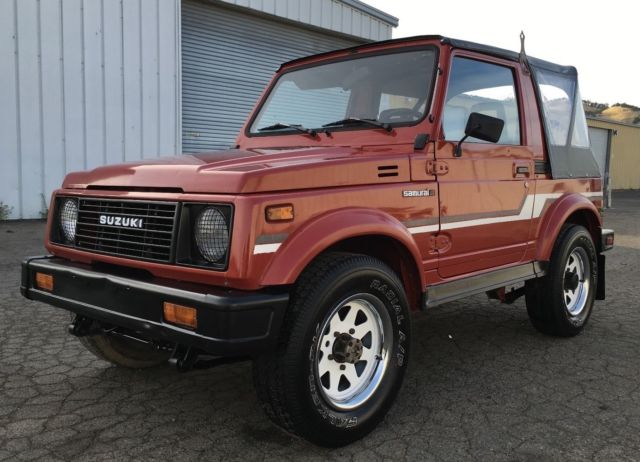 suzuki samurai 4x4 rust free 2nd owner   must see suzuki jeep