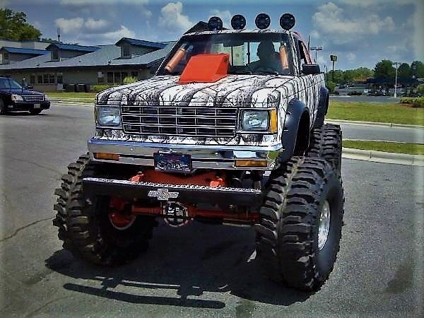 The Gaffney Show Truck Is up for sale!! Monster Truck/Show ...