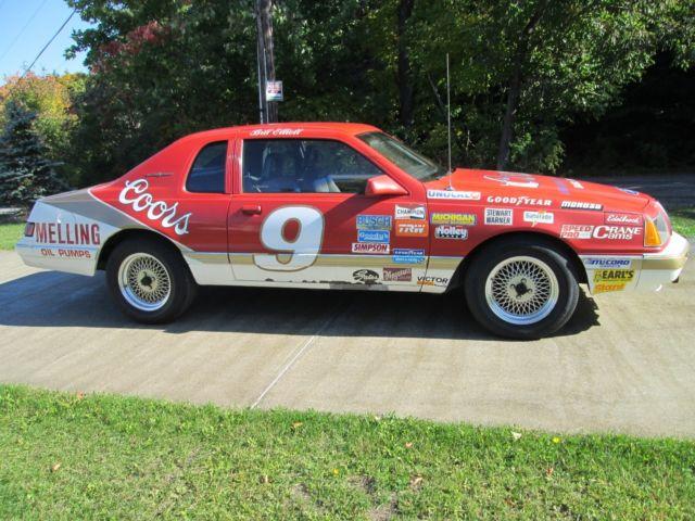 Car Auctions Ny >> Thunderbird Ford 1984 NASCAR Bill Elliott Must See!