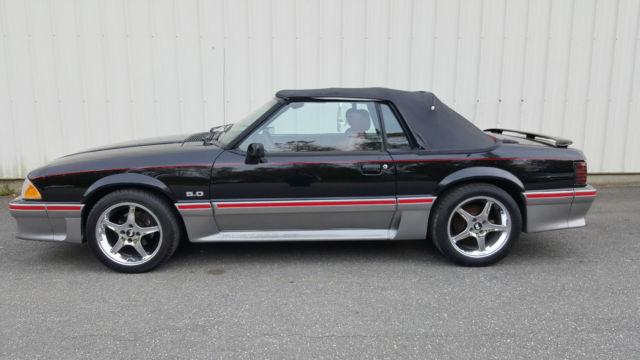 Unbelievable 89 Mustang Gt Convertible