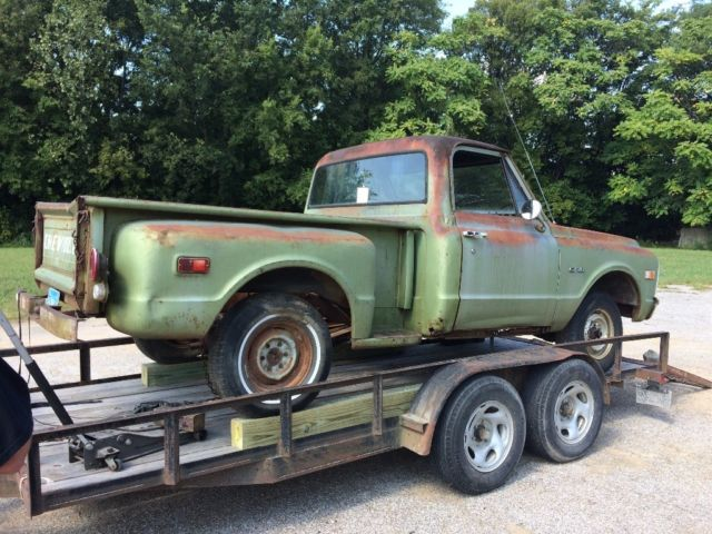 1969 Chevy Truck For Sale >> VINTAGE 1969 Chevy c10 STEPSIDE Shop Truck PROJECT