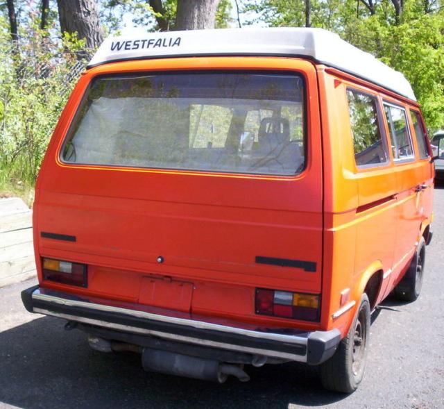 vintage california 1980 vw bus vanagon westfalia camper rv with ac pop top tent. Black Bedroom Furniture Sets. Home Design Ideas