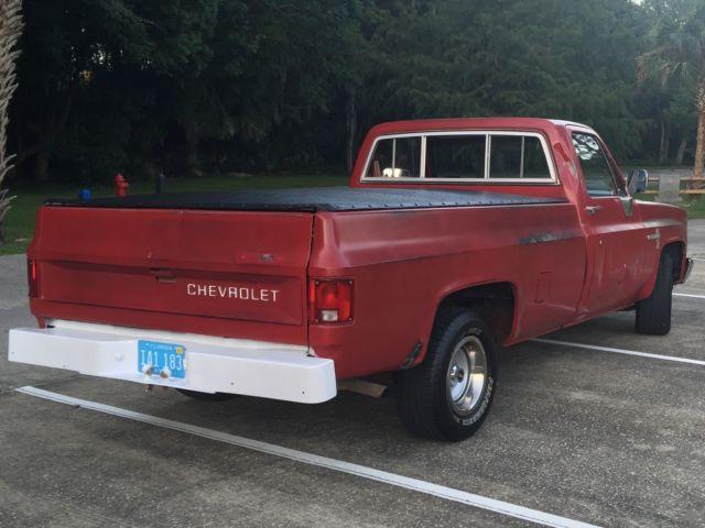 vintage square body chevy c10 longbed diesel half ton truck. Black Bedroom Furniture Sets. Home Design Ideas