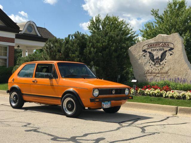 VW Rabbit GTI Classic 1986