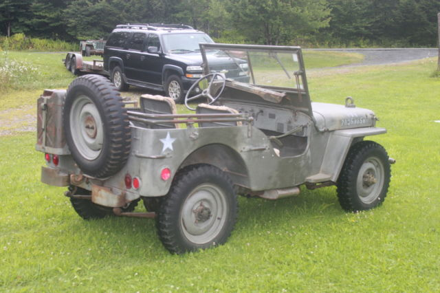 Used Cars For Sale Germany Military: Willys MB / Ford Gpw / WWII Military Army Jeep From Germany