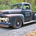 1953 ford f100 truck v8 hotrod shop truck rat rod kustom 1949 Ford F1 Rat Rod 1951 ford f1 all wheel drive v8 5 speed hotrod street rod shop truck rat f100